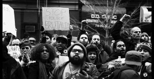 Protesting Police Brutality in the Bronx  South Bronx, protest against biased policing practices.  Samantha Grace Lewis/Flikr February 2012.