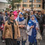 Protesting the charter in Quebec.  Matias Garabedian/Flikr