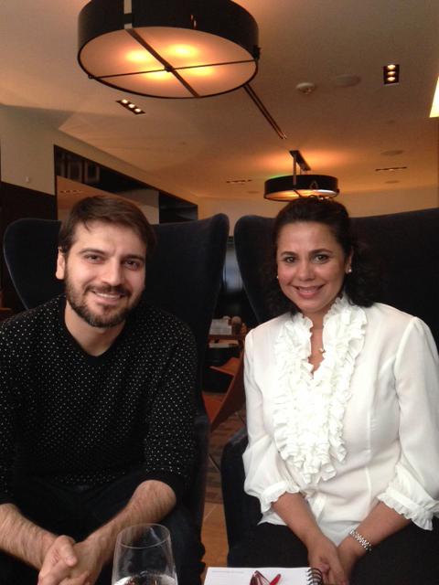 Salma Hasan Ali with Sami Yusuf
