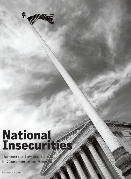 National Insecurities: Between the law and liberty in counterterrorism America