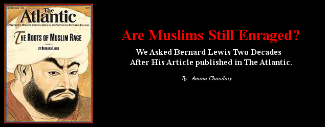 Face to Face with Bernard Lewis