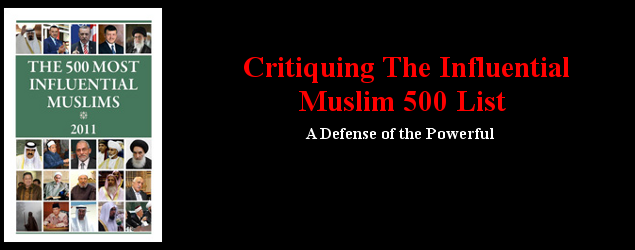 A Defense of the Powerful: The Muslim 500