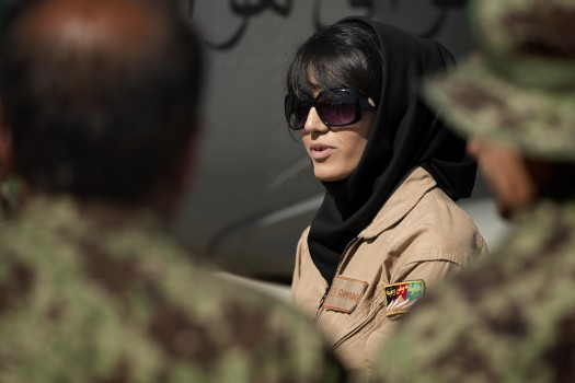 The Female Afghani Pilot–Now With Death Threats