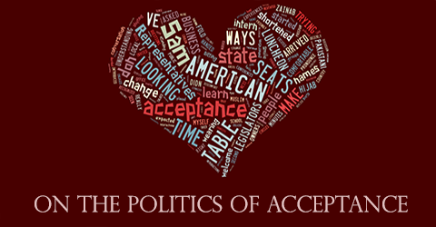 On the Politics of Acceptance: Why I Refuse to Make You Comfortable