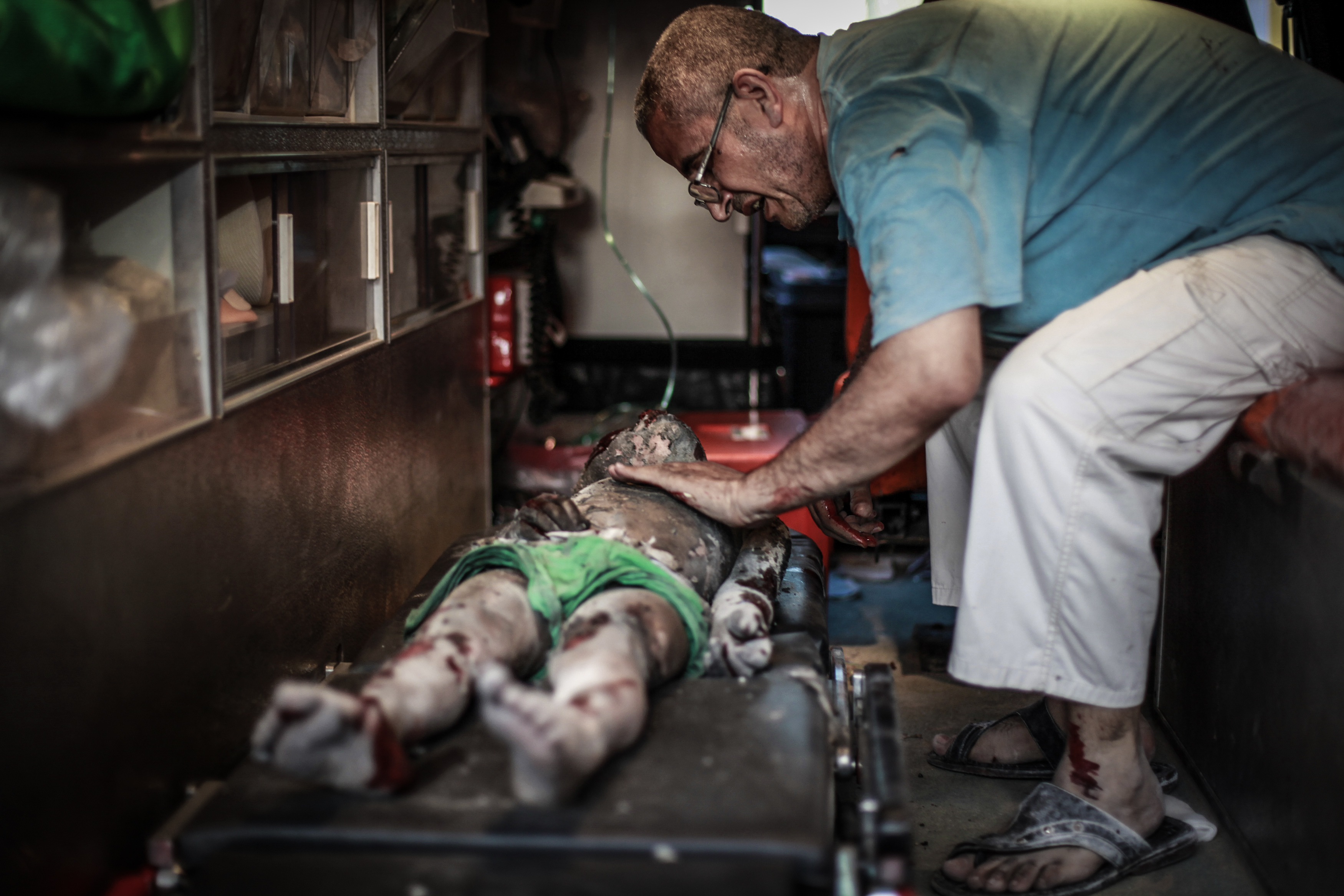 Photo from the ground – Gaza July 21st 2014