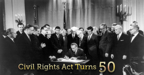 Reflecting on Progress and Frustrations: 50 Years Since the Civil Rights Act