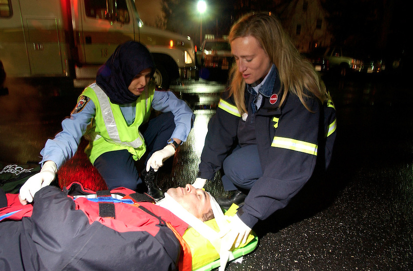 In the aftermath of unnecessary violence: Service and safety through the eyes of a first responder