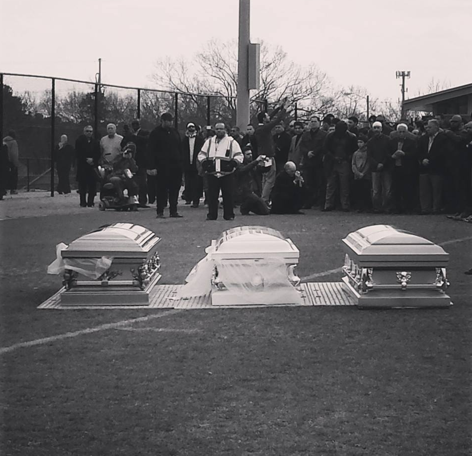 Laid To Rest: Powerful Images by Friend and Family from The Burial in Chapel Hill