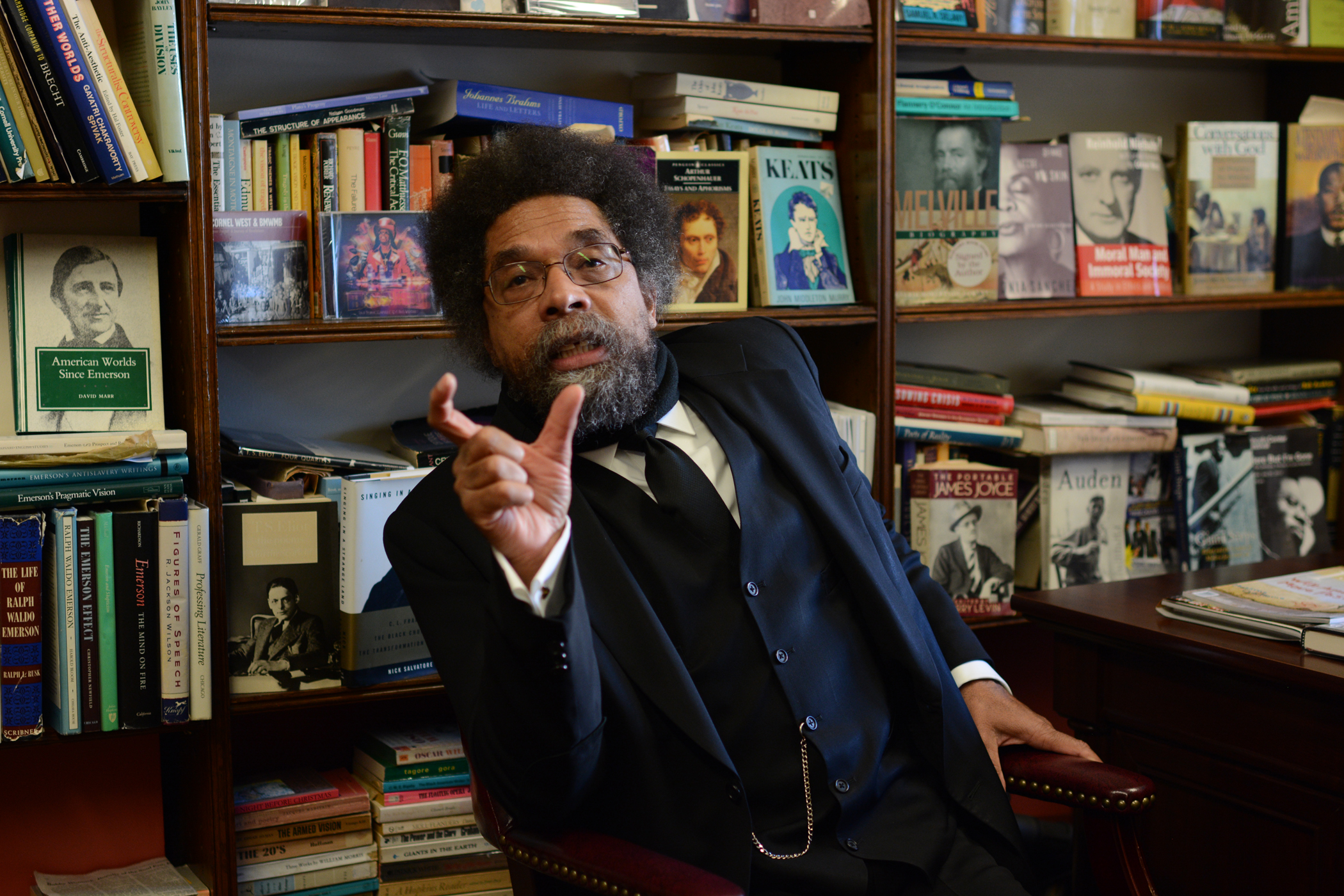 Cornel West on the Place for Muslims in America
