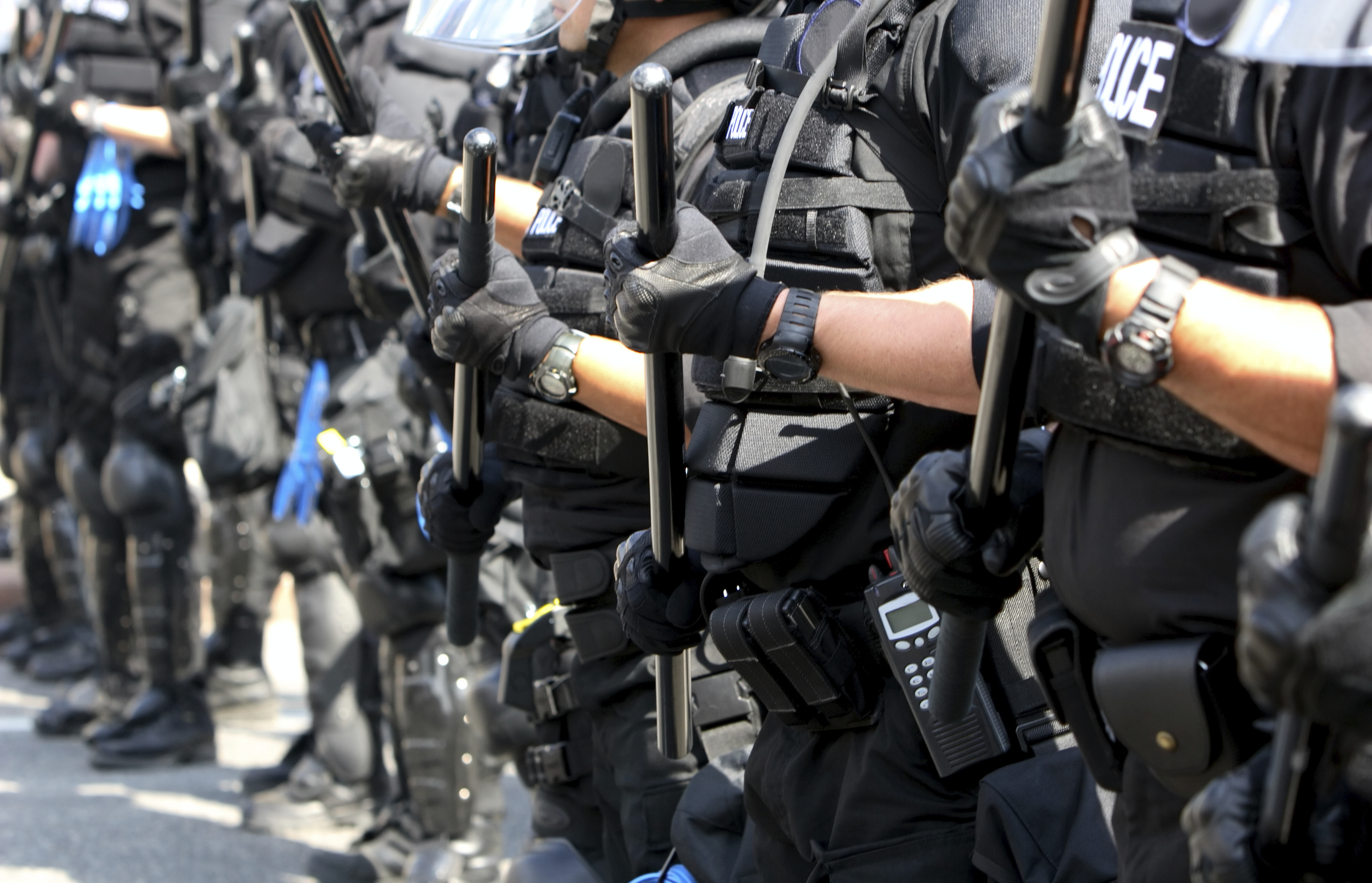 Brown, Black and Blue: The Colors of Police Violence