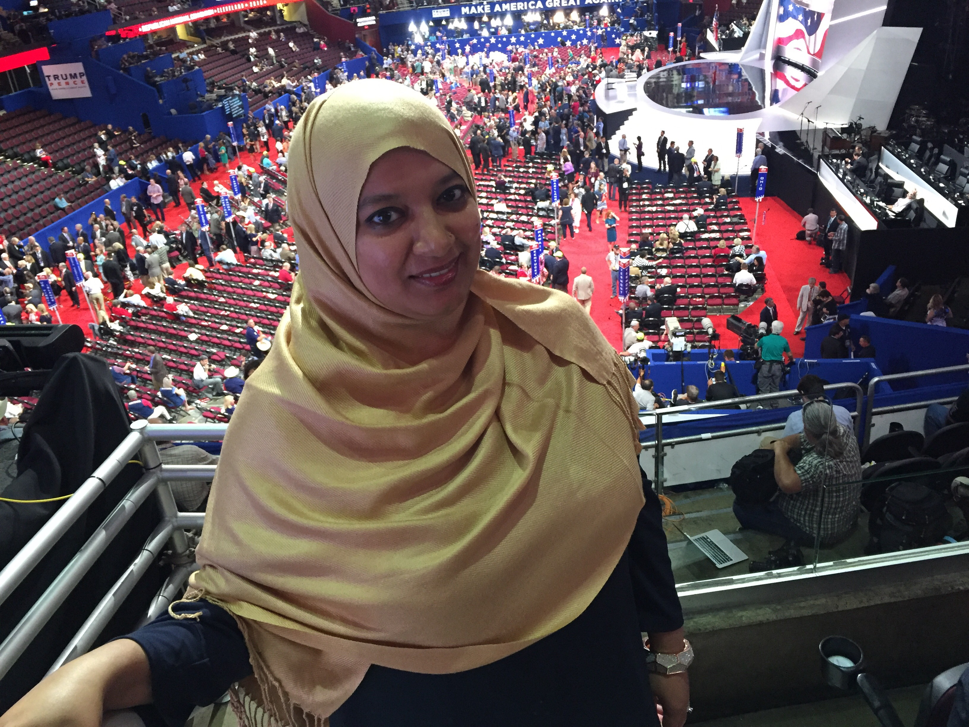 A Muslim at the RNC