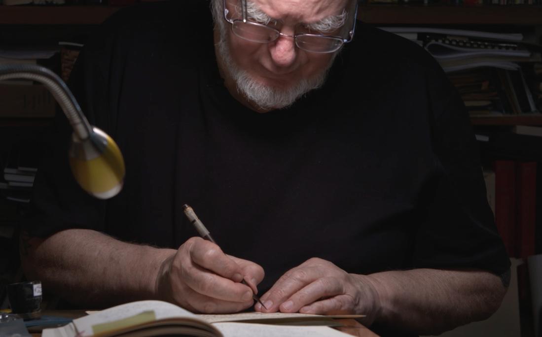"""""""The Calligrapher."""" In Studio with Mohamed Zakariya"""
