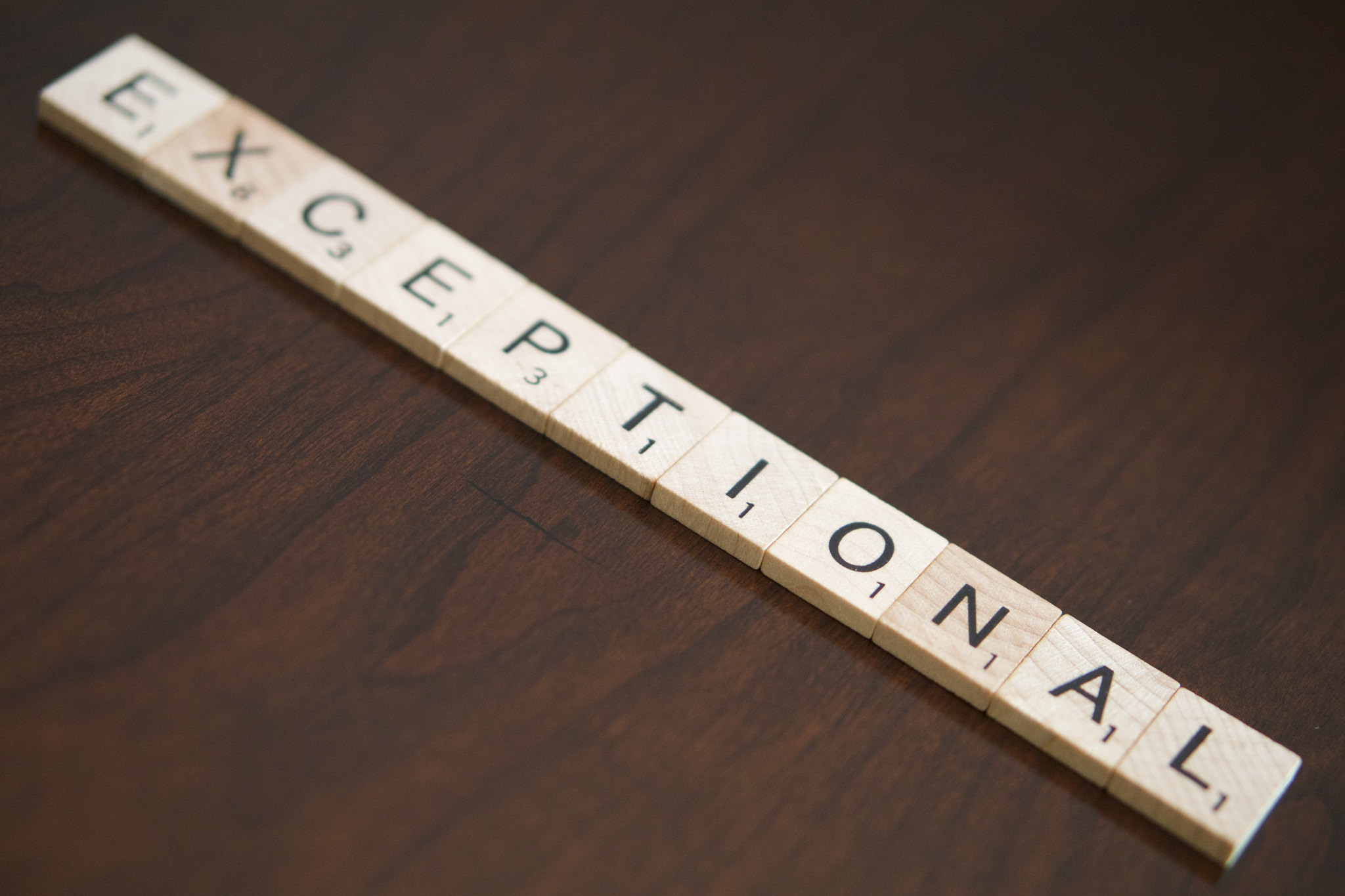 Becoming Exceptional