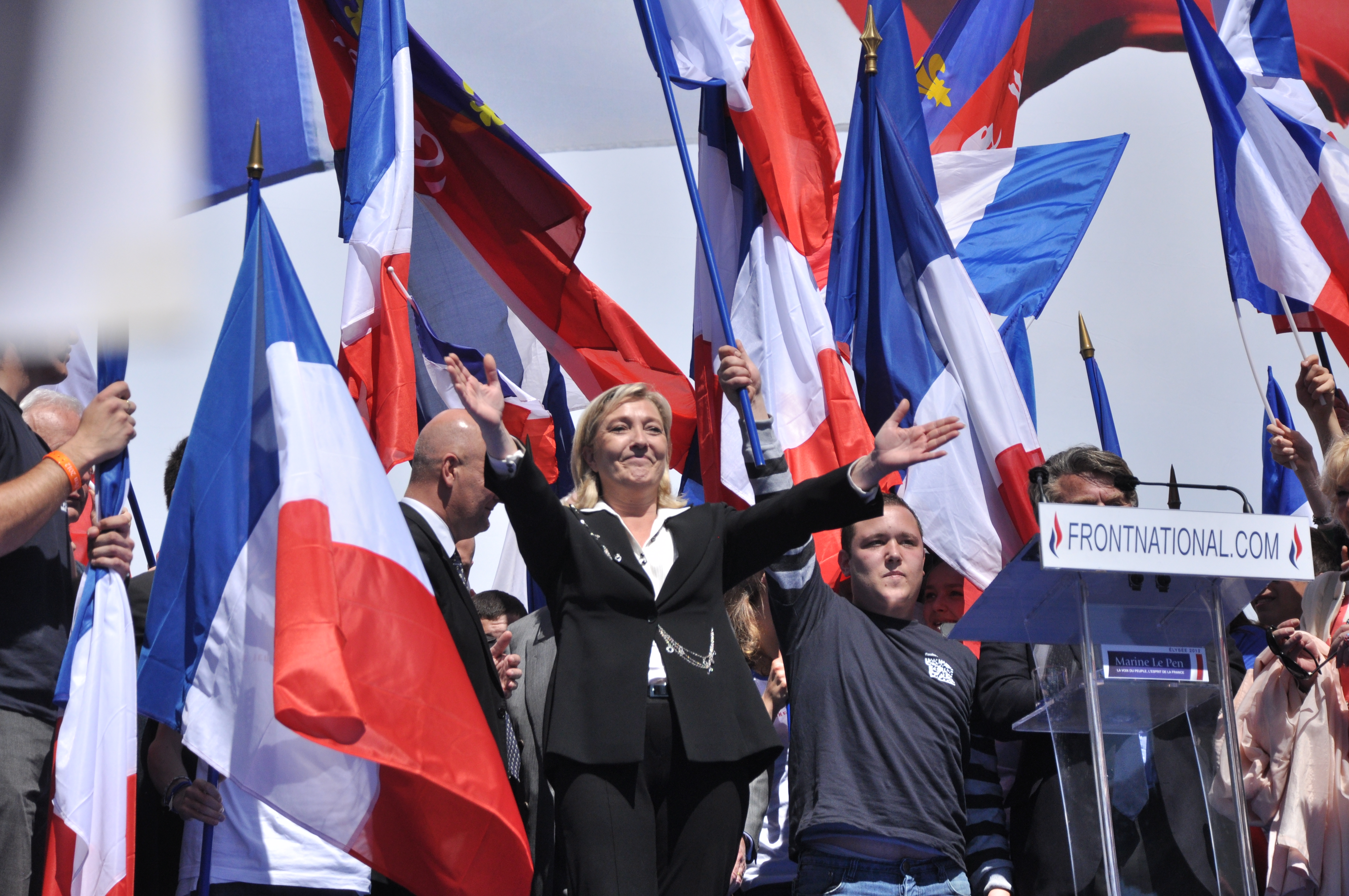 POLL: Does Marine Le Pen's Electoral Success Thus Far Make You Worried For French Muslims?